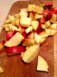 ștrudel cu mere