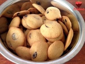 Cookies cu ciocolată și portocală